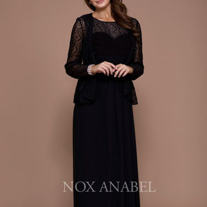 Mother of the Brides Long Black Cute Dress NX5136